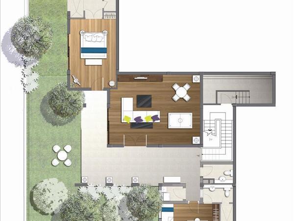亚龙湾 唯一 纯半山 现房精工墅 下沉式庭院独栋豪宅大别墅-室内图-7