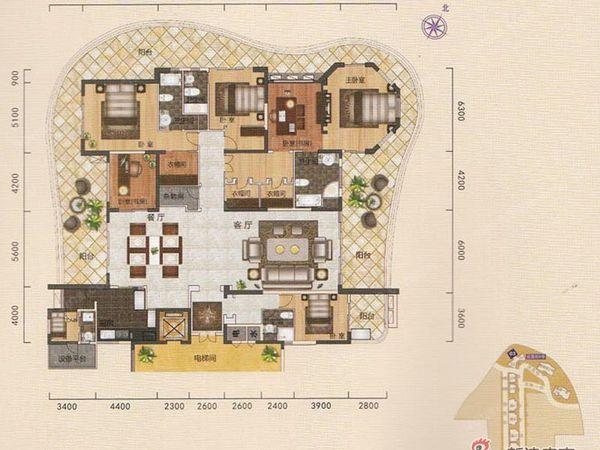 一独栋别墅 高尔夫景观 豪华装修小区中心