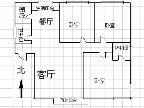 太阳新城-户型图4