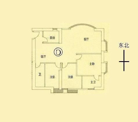 雍景半岛别墅户型图
