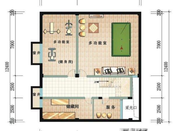 鲁能三亚湾美丽三区别墅-户型图8