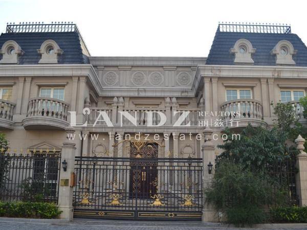 二层欧式城堡式别墅