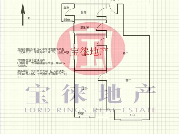 龙湖香醍国际社区-户型图2