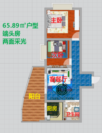 吴井路 春城路 环城南路 三大商圈围绕 一手现房均价七千二-室内图-11