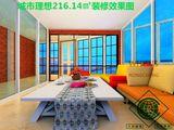 一环边 吴井路 板式小高层 城市理想 216平米180度景观