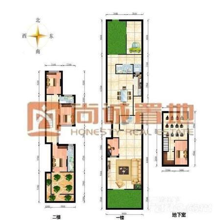 独栋房子平面设计图