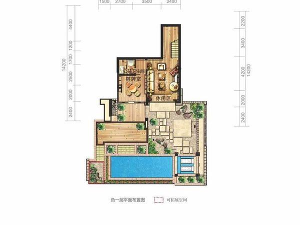 富力湾  独栋半山豪宅别墅 正面观海 纯地上三层 现房-室内图-11