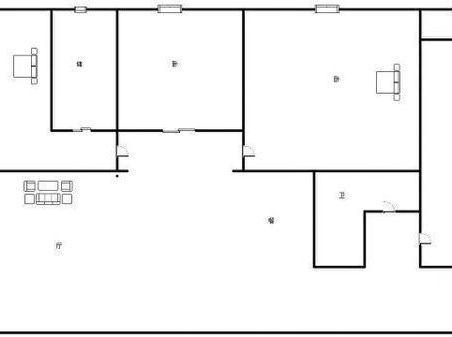 济南长清常春藤 3室2厅2卫 139.88平米