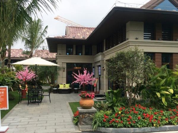 博鳌碧桂园拥有优质海岸线,细软的沙滩、湛蓝的海水高端别墅住宅-室外图-357299257