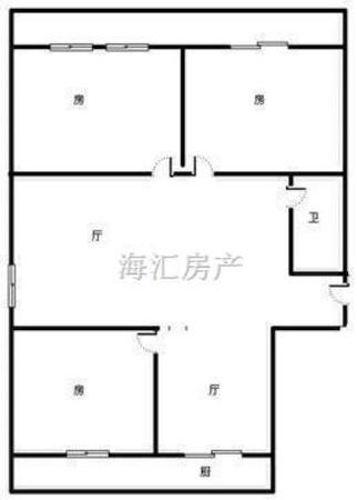 市政府小区 南北通透 黄金楼层 精装三室 可按揭-室内图-7