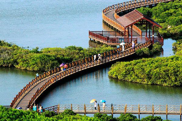 澄迈富力红树湾,精装小洋房享内外双海景观,2200亩湿地公园-室内图-8