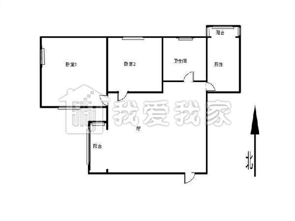 汇川家园精装修大两室 育婴里小学低楼层 价位可议-室内图-7