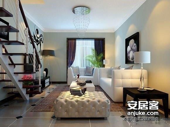 后湖汉口城市广场双地铁公寓44平精品Loft买一层送一层-室内图-2
