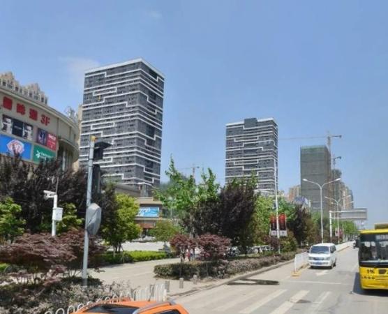 后湖汉口城市广场双地铁公寓44平精品Loft买一层送一层-室外图-362108582