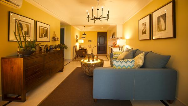 澄迈富力红树湾,精装小洋房享内外双海景观,2200亩湿地公园-室内图-2