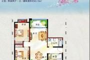 鲁能海蓝福源纯板楼现房3房南北通透 1梯2户成熟社区交通便利-室内图-13