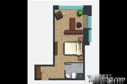 火车站投 资自住地铁口40 70 特色小公寓准现房火爆来袭-室内图-5