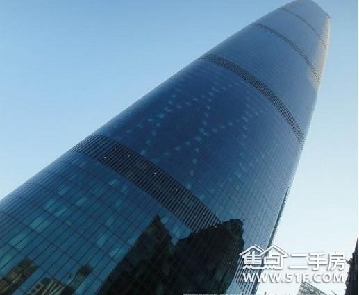 广州国际金融中心西塔电梯情况:采用进口