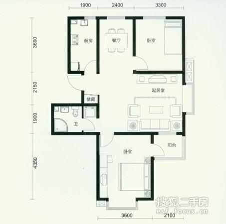 红磡领世郡-户型图5
