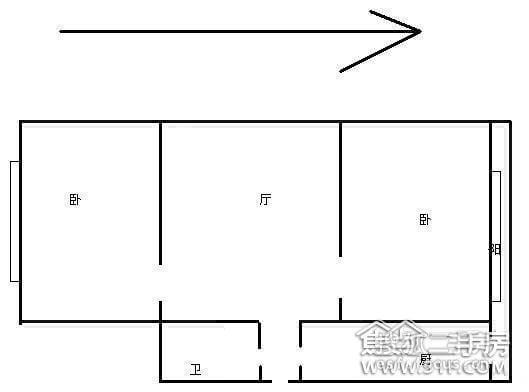 和睦西里-户型图3