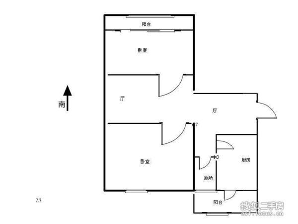 飞云东里-户型图4