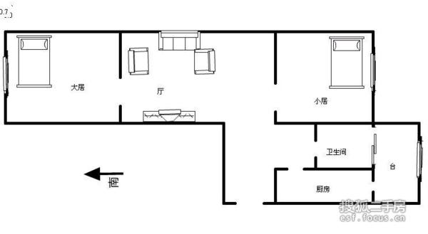 飞云东里-户型图5