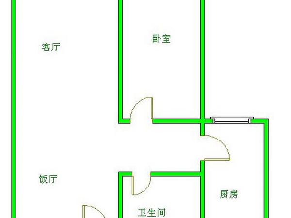北辰花园-户型图8