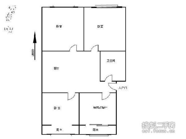 重华西里-户型图5
